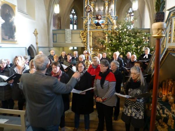 1/2020 Auftritt Kirchenchor, Kirche