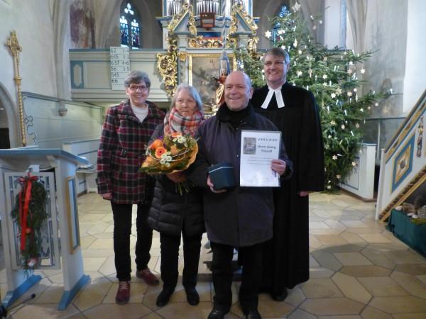 1/2020 Gruppenbild, Gisela und Georg Thüroff, Pfr. Schrepfer, Petra Nitschky