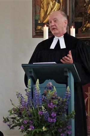 Am Samstag den 30. Mai 2020 fand um 14.00 Uhr in der St. Andreaskirche Unterschlauersbach die Verabschiedung von Pfarrer Hüttmeyer statt.