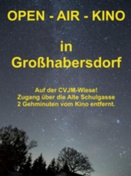 Als Vorprogramm beim Open-Air-Kino auf der CVJM-Wiese ...